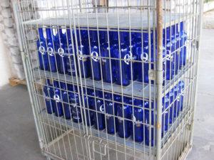 Bouteille personnalisée en verre Bordeaux